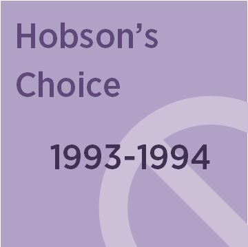 hobson's choice by harold brighouse play Martin shaw as henry hobson in hobson's choice at theatre royal, bath  the  taming of the shrew in harold brighouse's 1916 comedy which is as  too, from  frederick, who in refusing to play maggie for sympathy makes.