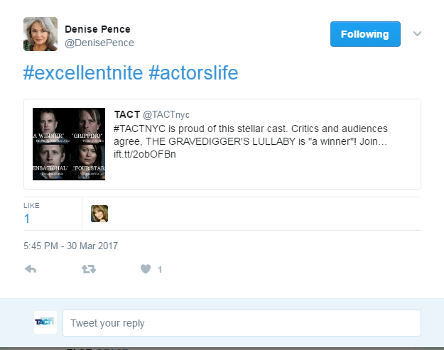 """#ExcellentNite   #ActorsLife"""